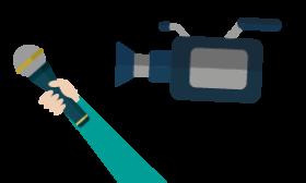 Un studio de radio dans votre établissement ? Un plateau de télévision au sein de ma structure ou de mon événement ? Une autre façon de travailler la prise de parole ! Un salon, une table basse, un fond vert, des mandarines, des caméras… le Bureau Information Jeunesse de l'Orne recrée un plateau de WebTV ou de WebRadio dans votre établissement scolaire, votre structure ou à l'occasion d'un événement particulier. Sous le feu des projecteurs, derrière la caméra, au montage ou même à l'écriture d'un scripte, l'outil WebTV offre de très nombreuses possibilités d'apprentissage à ses bénéficiaires. Ainsi, la WebTV permet entre autres le travail autour de l'estime de soi, de la prise de parole en public et le travail de l'image. Le Bureau Information Jeunesse de l'Orne vous accompagne dans la mise en place et la réalisation de votre projet impliquant l'outil WebTV. Sur des événements liés à la jeunesse, le BIJ peut également assurer la mise en place d'un direct ou assurer la restitution de l'événement par l'enregistrement d'une émission. Pour en savoir plus sur ce qu'il est possible de faire, rendez-vous  sur notre page Webmédias !